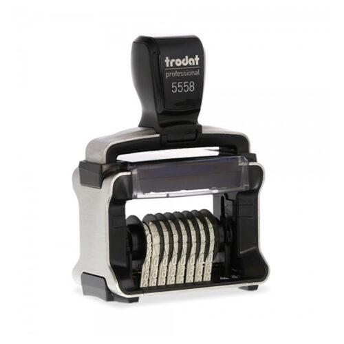 Σφραγίδα αυτόματη κειμένου - αριθμών Trodat Professional 5558/PL