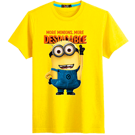 T-shirt stamp Minions