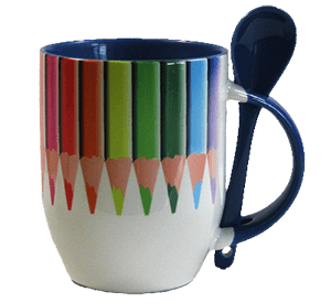 Sublimation mug spoon