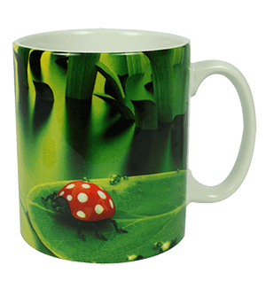 Sublimation mug green