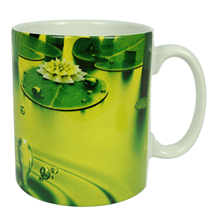 Sublimation mug yellow