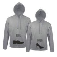 Φούτερ για ζευγάρια King Queen Shoes