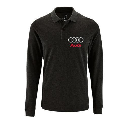 Μπλουζάκι polo Audi μακρυμάνικο