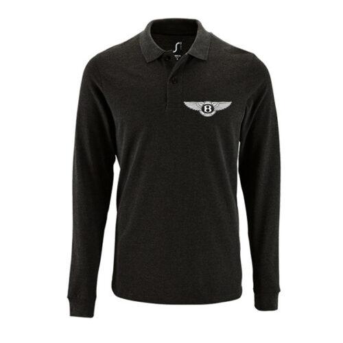 Μπλουζάκι polo Bentley μακρυμάνικο