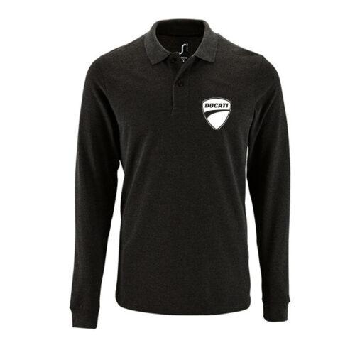 Μπλουζάκι polo Ducati μακρυμάνικο
