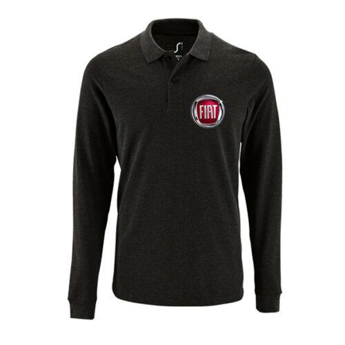 Μπλουζάκι polo Fiat μακρυμάνικο