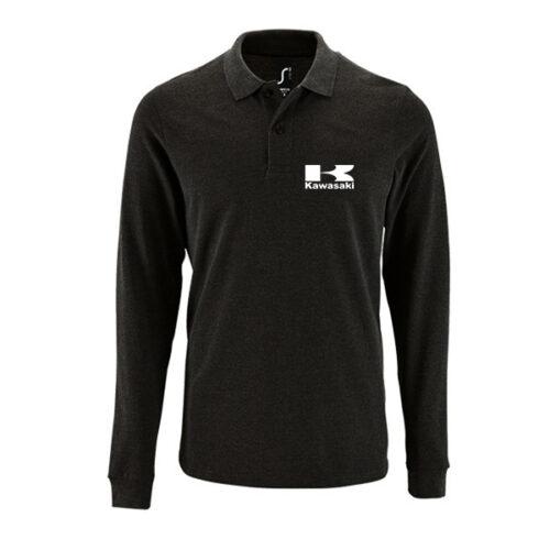 Μπλουζάκι polo Kawasaki μακρυμάνικο