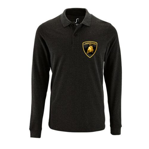 Μπλουζάκι polo Lamborghini μακρυμάνικο