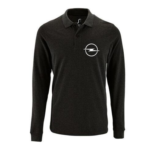 Μπλουζάκι polo Opel μακρυμάνικο