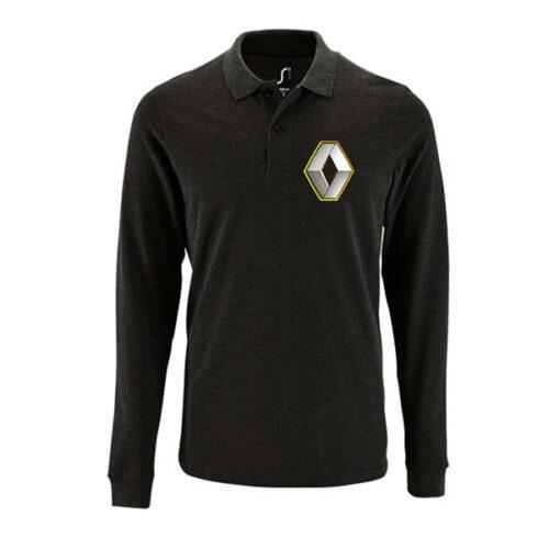 Μπλουζάκι polo Renault μακρυμάνικο
