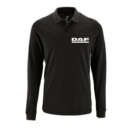 Μπλουζάκι polo DAF μακρυμάνικο