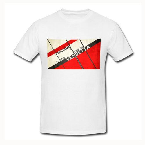 Photo t-shirt V-for vendeta No4