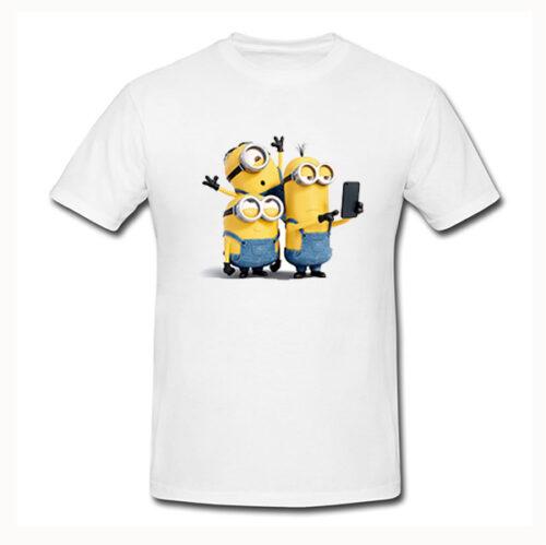 Photo t-shirt Minions No3