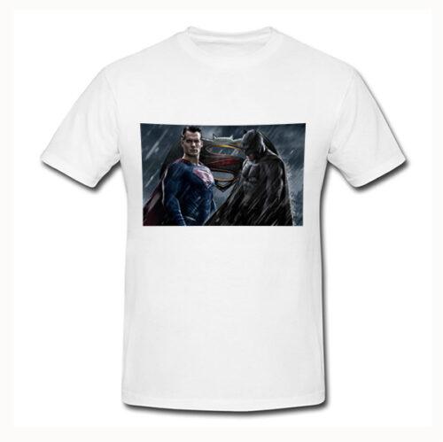 Photo t-shirt Superman vs Batman