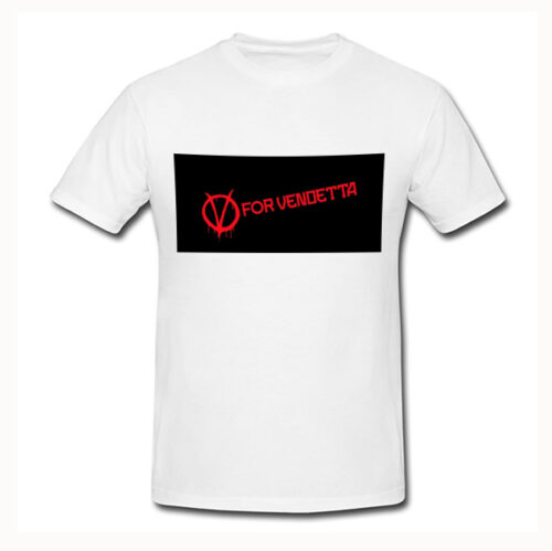 Photo t-shirt V-for vendeta