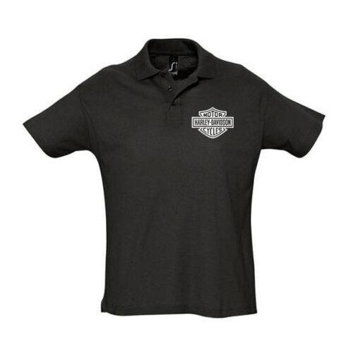 Μπλουζάκι polo Harley κοντομάνικο