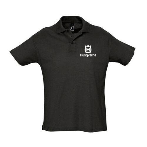 Μπλουζάκι polo Husqvarna κοντομάνικο