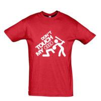 Μπλουζάκι με τύπωμα Dont touch