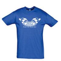 Μπλουζάκι με τύπωμα Ford Racing