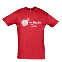 Μπλουζάκι με τύπωμα Turbo