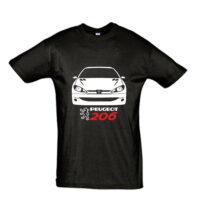 Μπλουζάκι με τύπωμα Peugeot 206