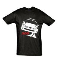 Μπλουζάκι με τύπωμα Peugeot 206 Road