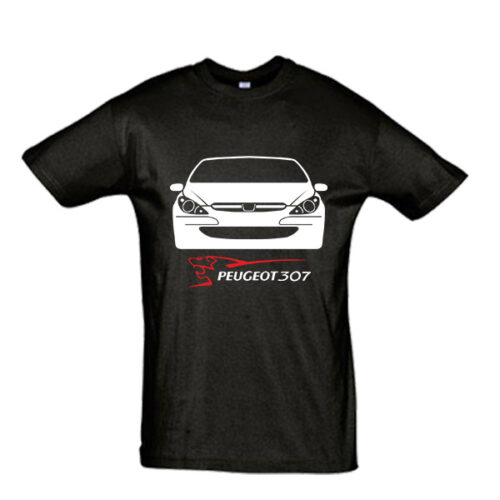 Μπλουζάκι με τύπωμα Peugeot 307