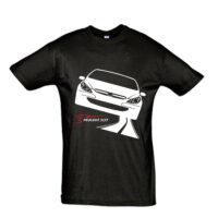 Μπλουζάκι με τύπωμα Peugeot 307 road