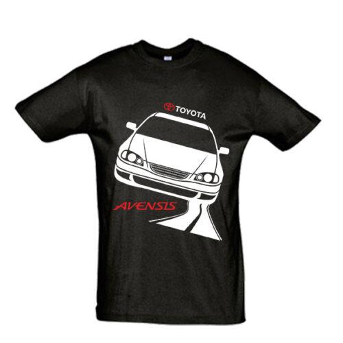 Μπλουζάκι με τύπωμα Toyota Avensis road