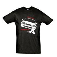 Μπλουζάκι με τύπωμα Toyota Corolla 98 Road