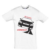 Μπλουζάκι με τύπωμα Corolla road
