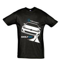 Μπλουζάκι με τύπωμα VW Golf road