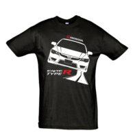 Μπλουζάκι με τύπωμα Honda Civic Type R Road