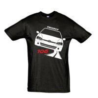 Μπλουζάκι με τύπωμα Peugeot 106 Road