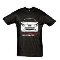 Μπλουζάκι με τύπωμα Peugeot 207