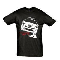 Μπλουζάκι με τύπωμα Peugeot 207 Road