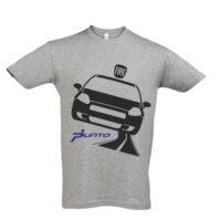 Μπλουζάκι με τύπωμα Fiat Punto road