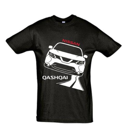 Μπλουζάκι με τύπωμα Nissan Qashqai road