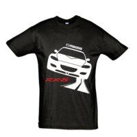 Μπλουζάκι με τύπωμα Mazda RX8 road