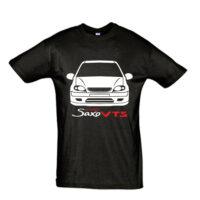 Μπλουζάκι με τύπωμα Citroen Saxo Vts