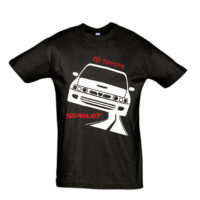 Μπλουζάκι με τύπωμα Toyota Starlet Road