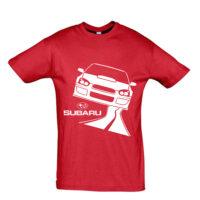 Μπλουζάκι με τύπωμα Subaru road