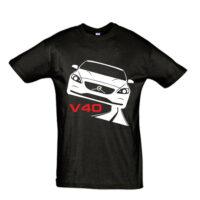 Μπλουζάκι με τύπωμα Volvo V40 Road