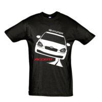 Μπλουζάκι με τύπωμα Hyundai Accent old Road