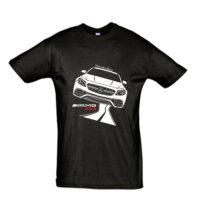 Μπλουζάκι με τύπωμα Mercedes E63 AMG Road