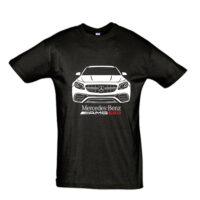 Μπλουζάκι με τύπωμα Mercedes E63 AMG