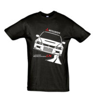 Μπλουζάκι με τύπωμα Mitsubishi Evo IX Road
