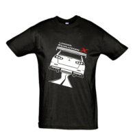 Μπλουζάκι με τύπωμα Mitsubishi Evo X Back Road