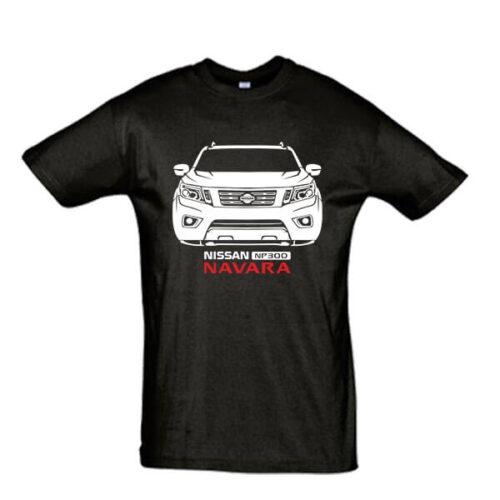 Μπλουζάκι με τύπωμα Nissan Navara NP300