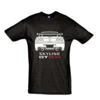 Μπλουζάκι Nissan GtR 34 Back